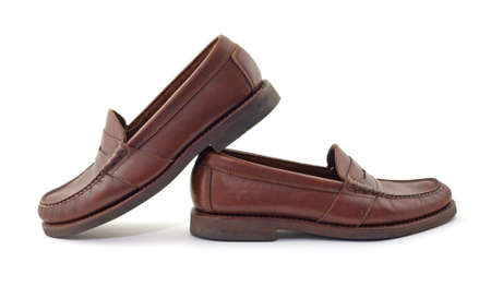 Leather loafers  photo