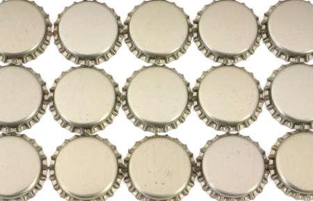 Beer bottle caps  Stock Photo