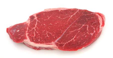 Unseasoned London broil steak