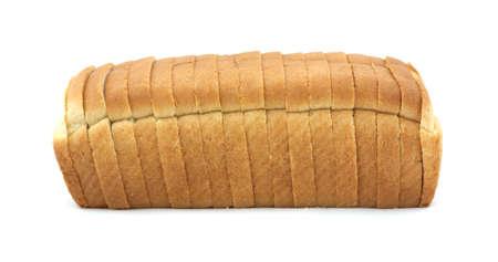 Wit broodbrood Stockfoto