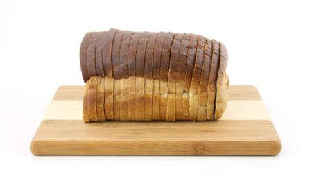 Rye bread loaf  photo