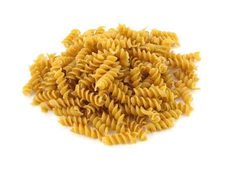Whole grain Rotini pasta Zdjęcie Seryjne - 4772665