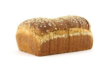 Twelve grain bread loaf