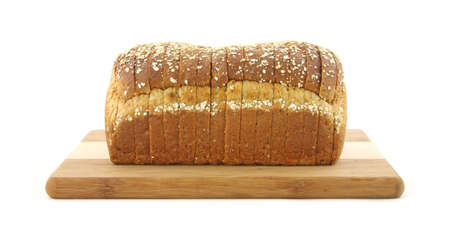 Multi grain bread loaf  photo