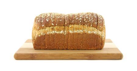 Multi grain bread loaf  photo