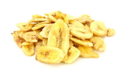 sweetened: Sweetened banana chips  Stock Photo