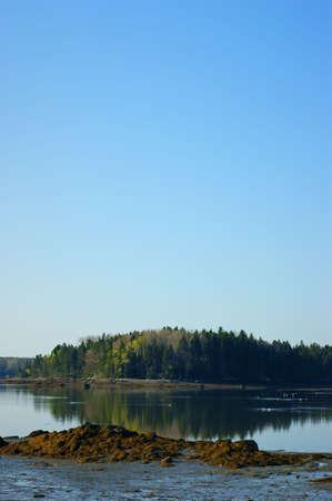 Carney Island in Little Deer Isle, Maine  photo