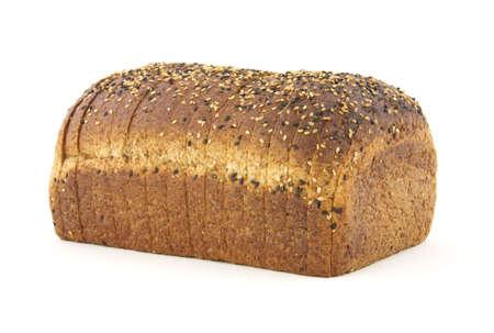 Healthy whole grain bread loaf