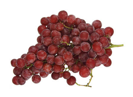 seedless: Fresh seedless red grapes