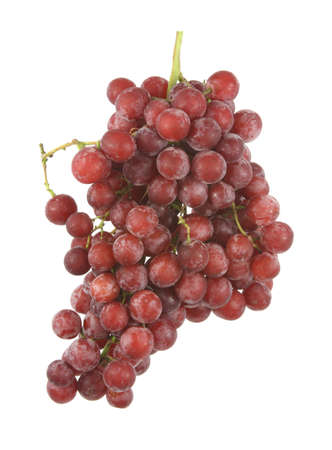 mottled skin: Seedless red grapes