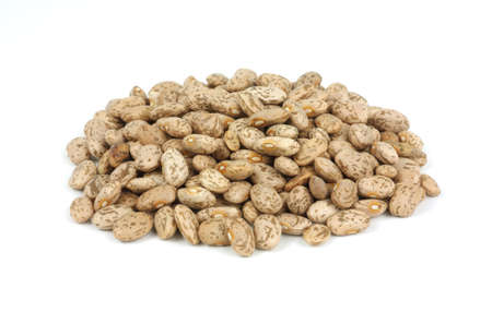 common bean: A small pile of the common pinto bean.