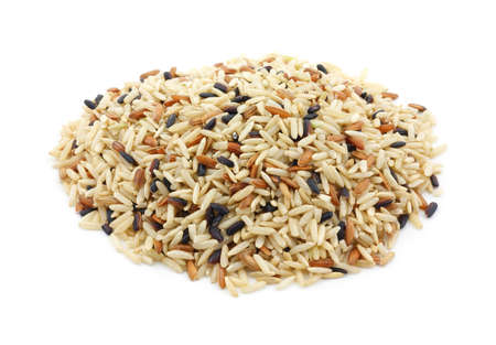blend: Country wild rice blend against a white background.