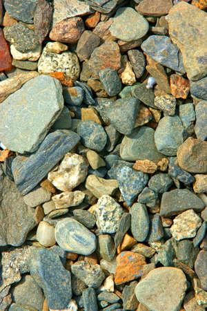 Many different varieties of small coastal rocks. Stock Photo - 5364884