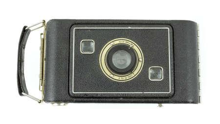 folding camera: Antique medium format film folding camera