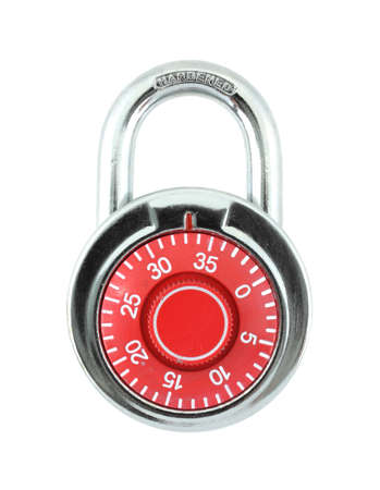 hardened: Hardened steel padlock.