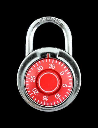 hardened: Hardened steel padlock