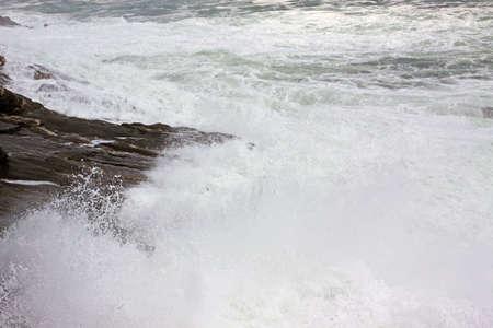turbulent: Turbulent sea of Hurricane Bill aftermath