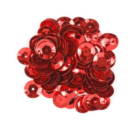 sequins: Red sequins
