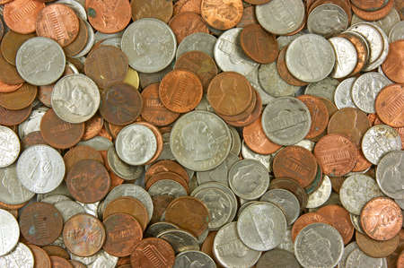 Loose change Stock Photo - 6111455