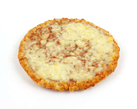 Single serving small cheese pizza