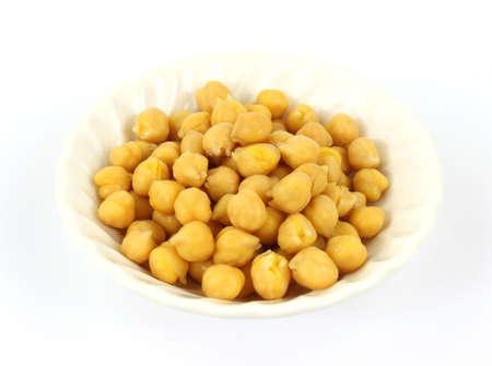 Garbanzo beans in bowl