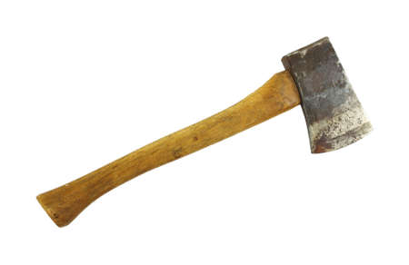 old items: Old axe