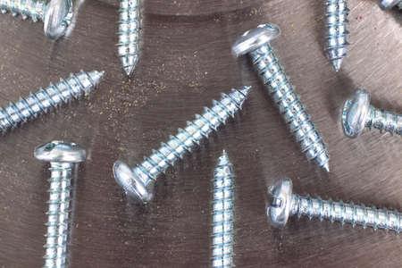 Pan head sheet metal screws  photo