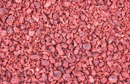 Close view of a large amount of imitation bacon bits.