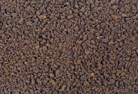 freeze dried: Una visi�n muy estrecha de caf� instant�neo. Foto de archivo
