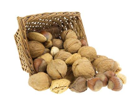 A small wicker basket on it Stock Photo - 16811357
