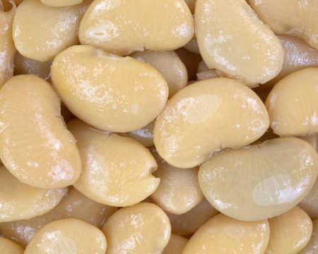 Une vue très proche de grains de beurre.
