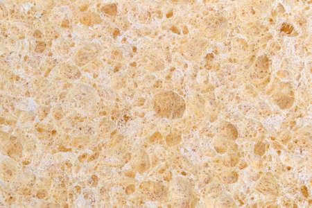 celulosa: Una visi�n muy estrecha de una esponja de celulosa.