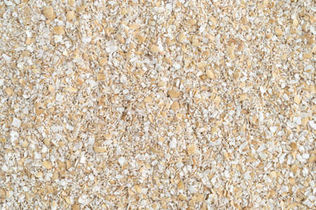 bran: A very close view of dry oat bran hot cereal.