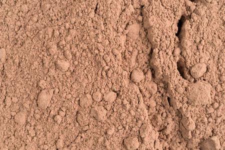 A very close view of Devils food cake mix. Banco de Imagens