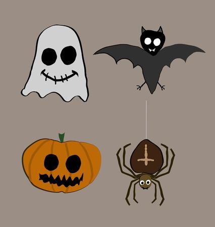 grisly: Halloween creatures