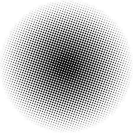 Optical dots radial gradient  イラスト・ベクター素材