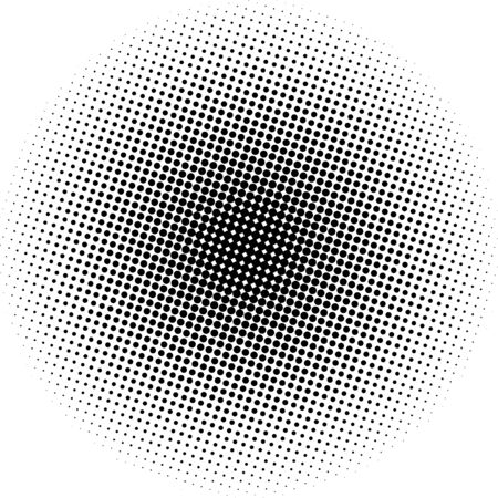 Optical dots radial gradient Illustration