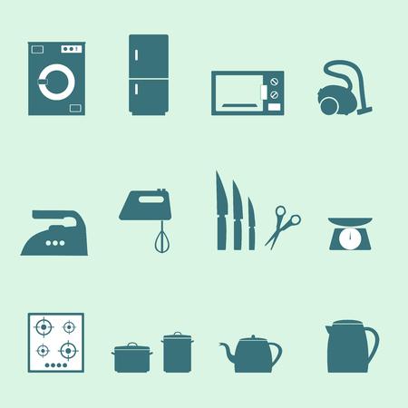 undress: kitchen tools Illustration