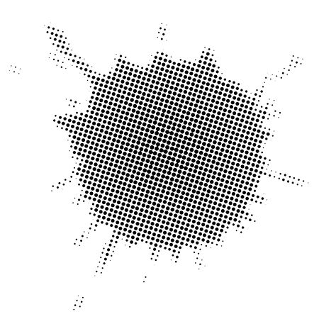 stain: Stain in halftone effect