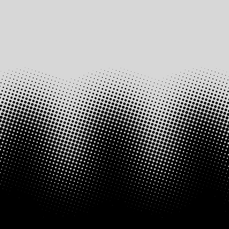Color halftone gradient waves pattern.