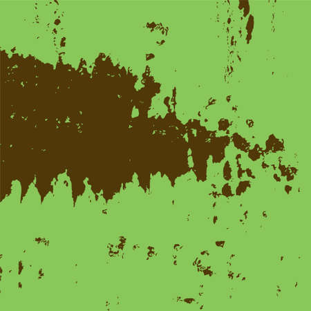 Abstract grunge background in green and brown looks like an old wall