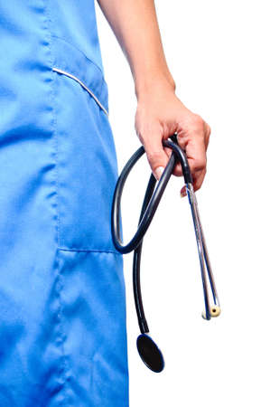 Doctor with stethoscope Stock Photo - 17361622