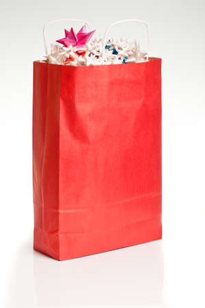 Red Christmas Bag Stock Photo - 17762376