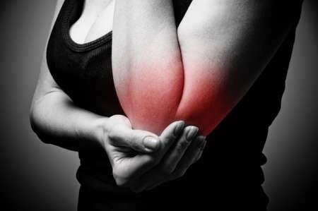 elbow pain Stock Photo - 17361587