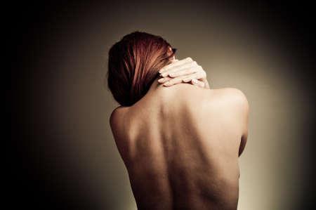 back pain Stock Photo - 17361581