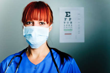 woman surgeon Stock Photo - 17361655