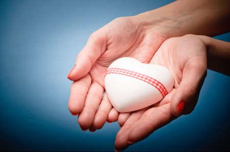 Hart in de handen