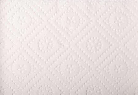 Texture of white tissue paper photo