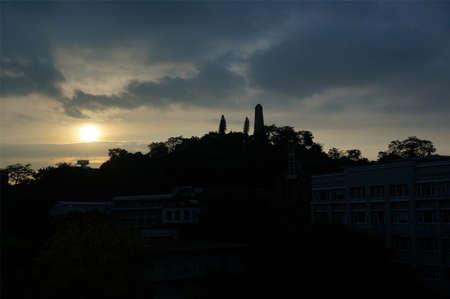 macroscopic: Zhongshan monument