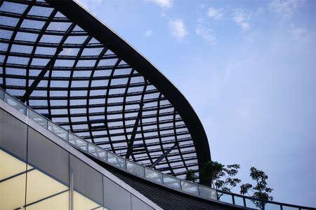 Guangzhou: Building mesh design, guangzhou Stock Photo